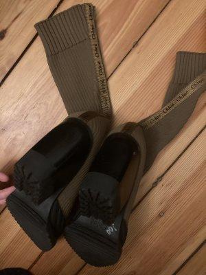 Chloé Ocieplane buty Wielokolorowy Skóra