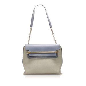 Chloe Clare Leather Shoulder Bag