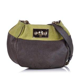 Chloé Shoulder Bag brown leather