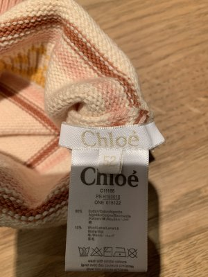 Chloé Knitted Hat cream-pink