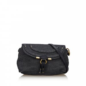 Chloe Denim Marcie Crossbody Bag