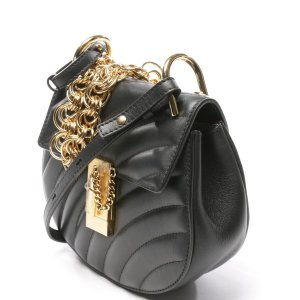 Chloé Drew Bijou Mini Abendtasche in Schwarz