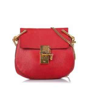 Chloé Borsa a spalla rosso Pelle