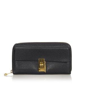 Chloé Wallet black leather