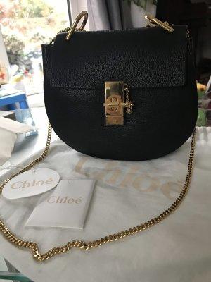 Chloé Bandolera negro-color oro
