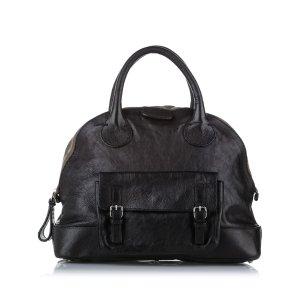 Chloe Edith Dome Bowler Bag