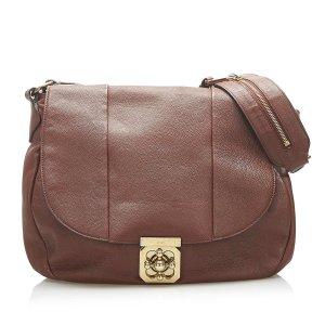 Chloe Elsie Leather Shoulder Bag