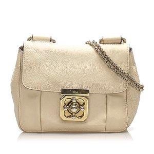 Chloé Shoulder Bag white leather