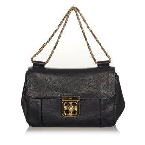 Chloé Shoulder Bag black leather