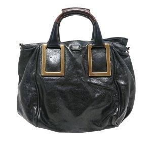 Chloé Sacoche noir cuir