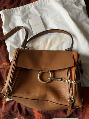 Chloé Crossbody bag brown leather