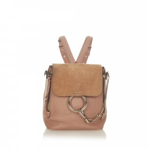 Chloé Backpack beige leather