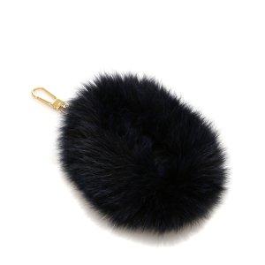 Chloe Fur Bag Charm