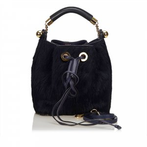 Chloe Fur Gala Bag