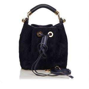 Chloe Fur Gala Bag
