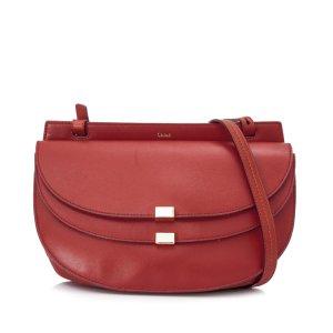 Chloe Georgia Leather Crossbody Bag