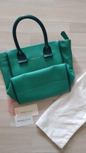 Chloè Handtasche grün