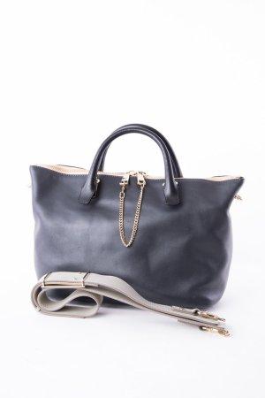 CHLOÉ - Handtasche Medium Baylee Marshmallow Grey/Schwarz