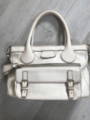 Chloe Handtasche weißes Leder