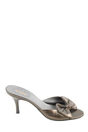Chloé High Heel Sandaletten bronzefarben Elegant