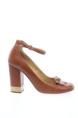 Chloé High Heels braun Business-Look