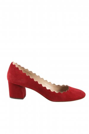 Chloé High Heels rot Casual-Look