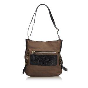 Chloe Jacquard Shoulder Bag