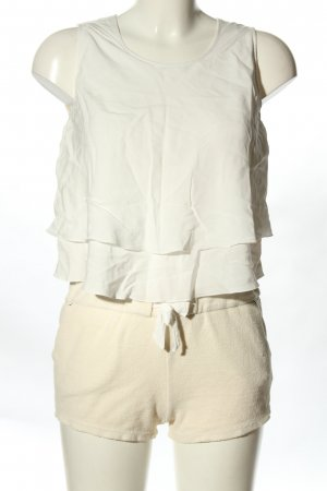 Chloé Jumpsuit weiß-creme Casual-Look
