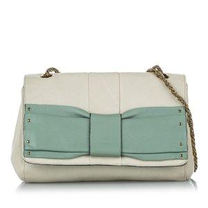 Chloé Shoulder Bag green leather
