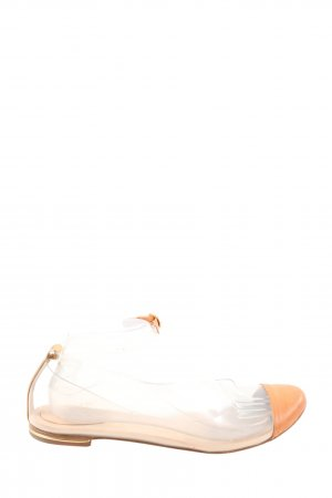 Chloé Classic Ballet Flats white-nude casual look