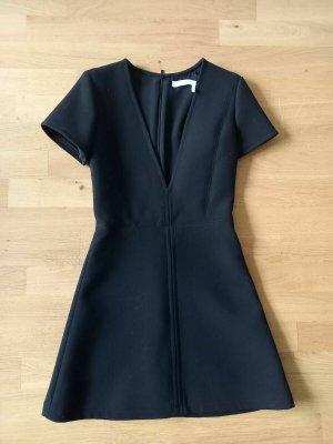 Chloé Shortsleeve Dress black wool