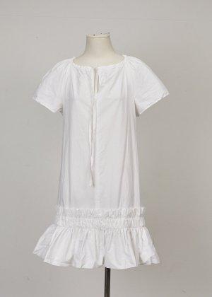 Chloé Robe chemisier blanc