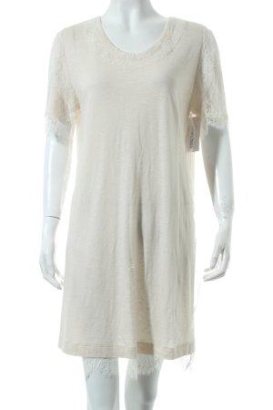 Chloé Sukienka z krótkim rękawem kremowy W stylu casual