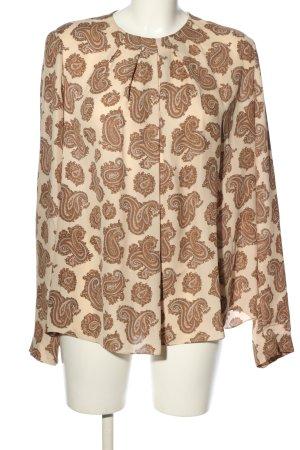 Chloé Bluzka z długim rękawem Abstrakcyjny wzór W stylu casual