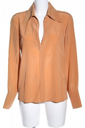 Chloé Long Sleeve Blouse light orange business style