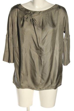 Chloé Langarm-Bluse khaki Business-Look