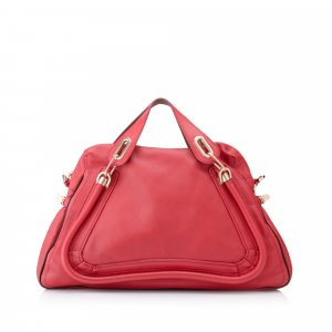 Chloe Large Paraty Leather Satchel