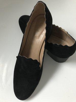 Chloé Scarpa slip-on nero Pelle