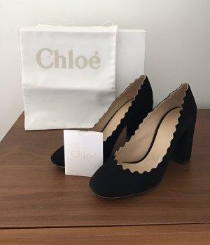 Chloé  zwart Leer