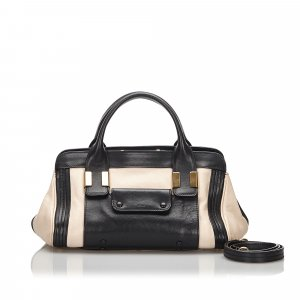 Chloe Leather Alice Satchel