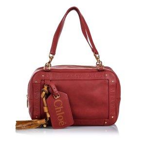 Chloe Leather Eden Shoulder Bag