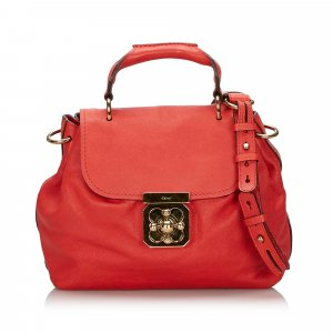 Chloe Leather Elsie Satchel