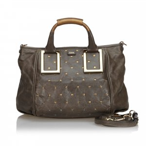 Chloe Leather Ethel Satchel