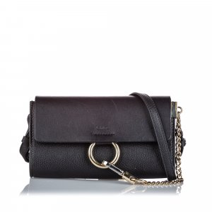Chloe Leather Faye Crossbody Bag