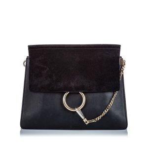 Chloe Leather Faye Shoulder Bag