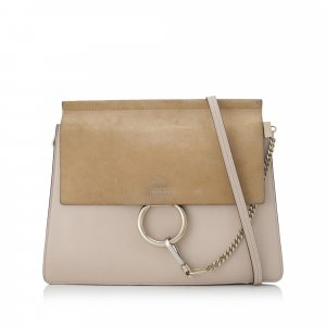 Chloé Crossbody bag beige leather