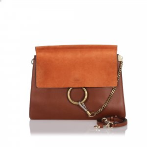 Chloe Leather Faye Shoulder Bag