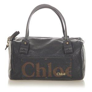 Chloé Handtas zwart Leer