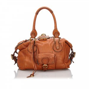 Chloe Leather Paddington Handbag
