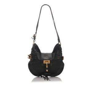 Chloé Hobos black leather
